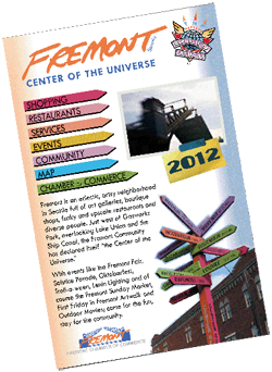 2012 Fremont Business Directory Cover