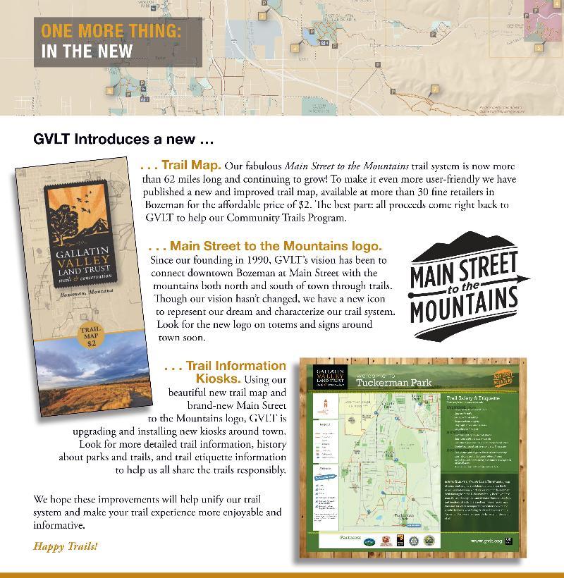 News from Gallatin Valley Land Trust