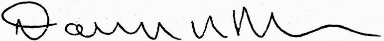 Deborah Meier Signature