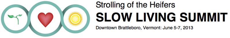Slow Living 2013