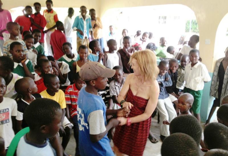 Jodi dancing Bonyo clinic