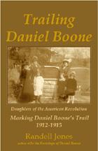 Trailing Daniel Boone book cover