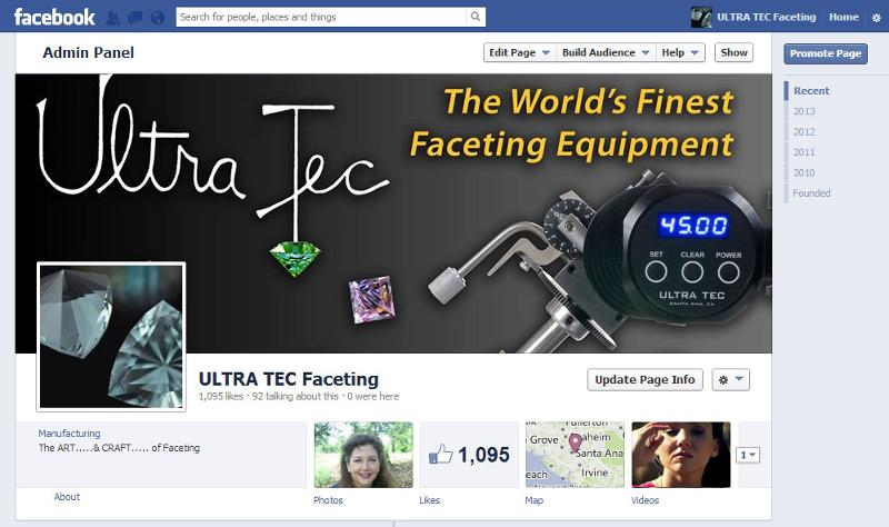 faceting facebook scan