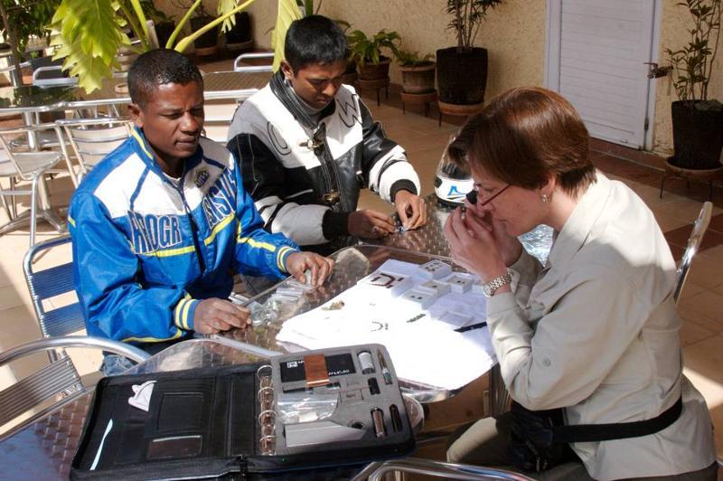 Buying sapphires in Madagascar