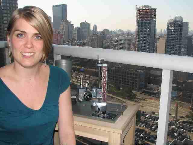 Melissa Johnson in NYC