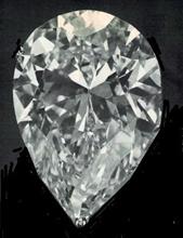 Taylor-Burton Diamond Replica