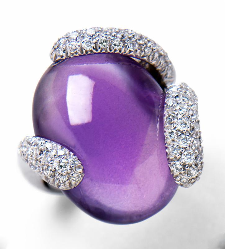 Amethyst Ring for Feb. Jewelers Corner
