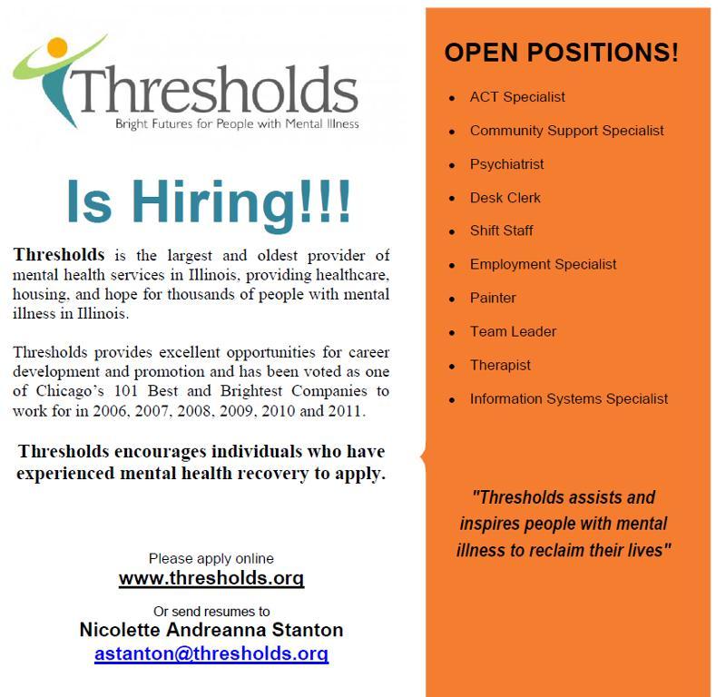 Thresholds Hiring