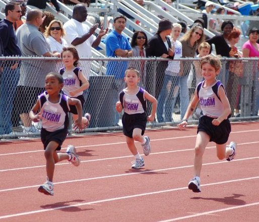 Storm Kids Running