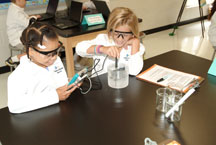 Freeman's Mill Elementary's student scientists at work