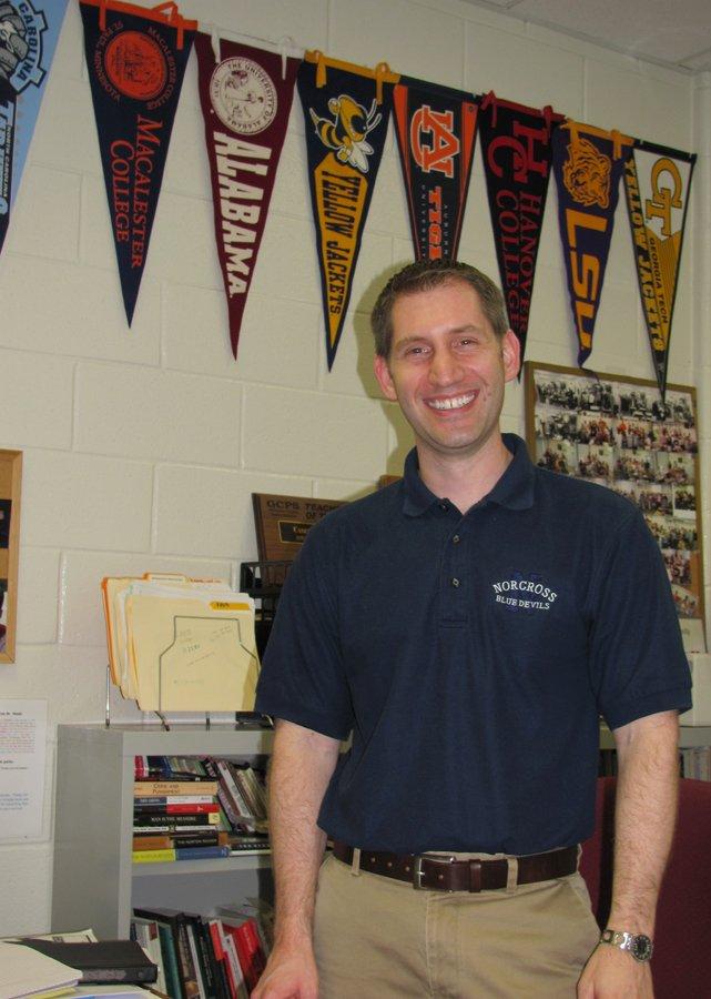 Norcross High Teacher Casey Weeks