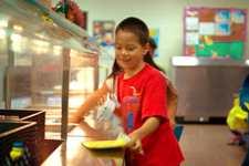 Minor ES breakfast kid