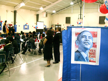 Norcross Elementary students share inauguration spirit