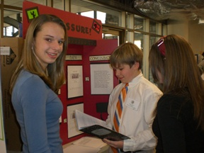 Participation in the annual science fair grows each year