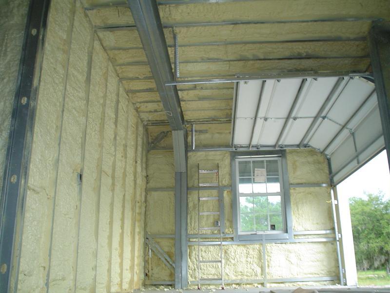 Foam Insulation walls