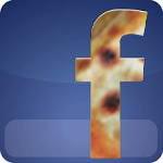 facebook brown button