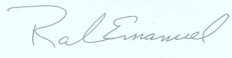 mayor signature