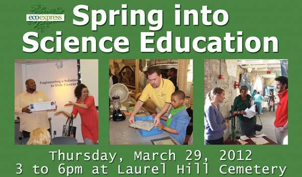Spring into Science Education: Thursday, March 29, 2012