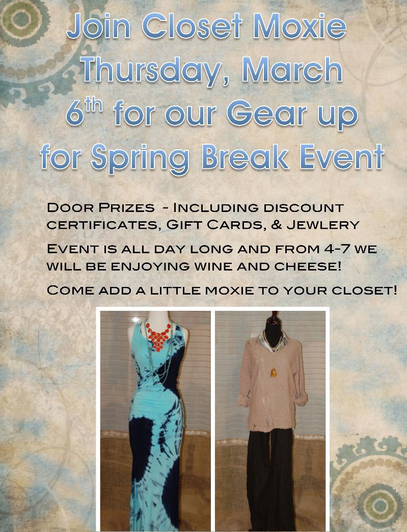 Thursday Spring Break Event