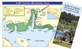 Lake Casitas Map and Brochure