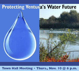 Ventura Water Town Hall Meting Graphic