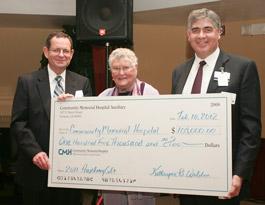 CMH Auxillary Donation