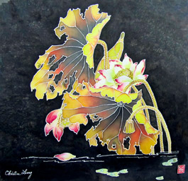 Christine Leong painting