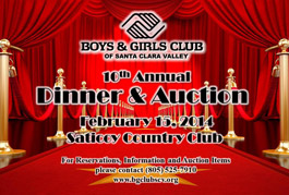 Boys & Girls Club of Santa Clara Valley's 10th annual auction