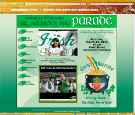 Ventura St. Patrick's Day Parade website