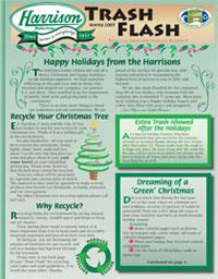 Harrison Industries Winter 2009 Trash Flash newsletter