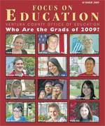 Focus on Edcation Grad Issue Cover