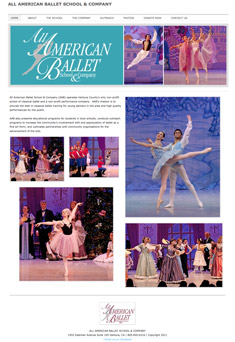 All American Ballet website
