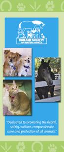 humane society brochure