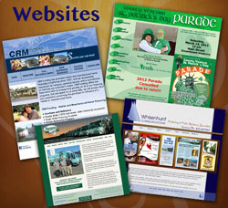 Websites produced by Whisenhunt Communications