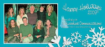 Whisenhunt Communication Holiday Card