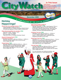 City of Oxnard's December 2009 City Watch Newsletter