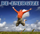 Re-energize graphic