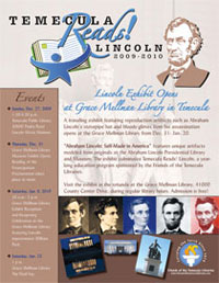 Temecula Reads Lincoln Flier