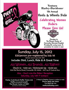 Heels & Wheels flyer
