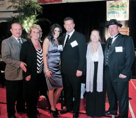 Harrison's as the Carpinteria Chamber Large Business award winner