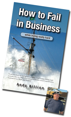 Andy Killion Book and photo