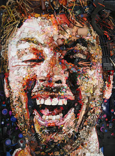recycling portrait