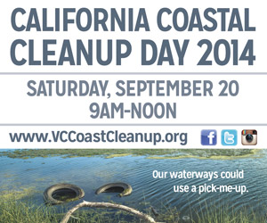 Coastal Cleanup day 2014 graphic