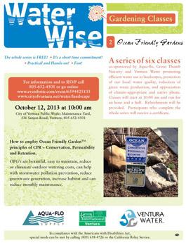 Water Wise brochure