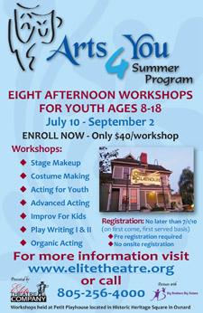 Arts For You Summer Program
