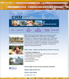 CRM Funding website