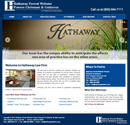 Hathaway Law Firm wesite
