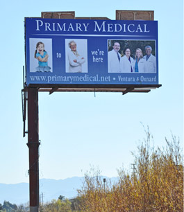 Primary Medical Group billboard