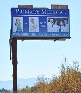 Primary Medical Group billboard