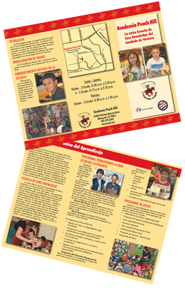 Peach Hill School Spanish Brochure